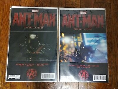 Ant-Man Prelude 1-2 Complete Comic Lot Run Set 1st Print Collection