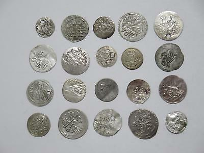 Egypt Turkey Ottoman Para Islamic Medieval Silver? World Coin Collection Lot #b