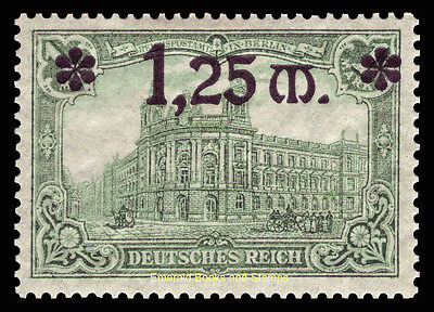 EBS Germany 1920 Berlin Post Office with 1.25 Mark o'print Michel No. 116 MNH**