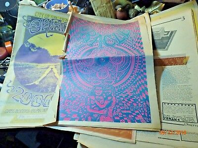 Lot of Late 1960s Underground Revolutionary Newspapers Oracle, Pterodactyl