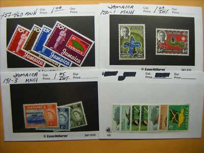 9457 Jamaica Lot of 4 Mint Stamp Packs