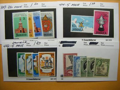 9458 Jamaica Lot of 4 Mint Stamp Packs