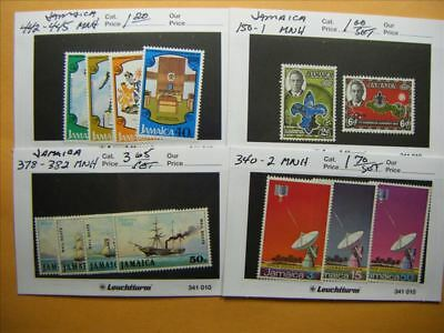 9462 Jamaica Lot of 4 Mint Stamp Packs
