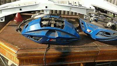 BMW 5 SERIES G30 M550 BLUE BREMBO M BRAKE CALIPERS WITH DISCS VW AUDI 5x112mm