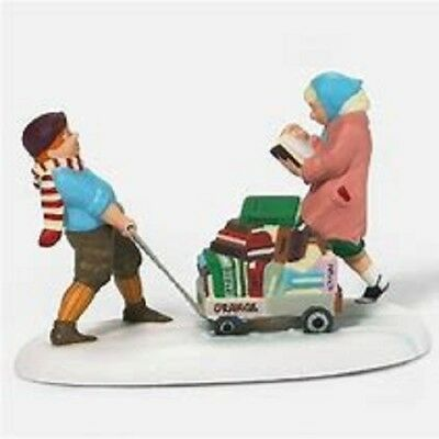 Dept 56 Christmas In The City For The Love Of Books Nib