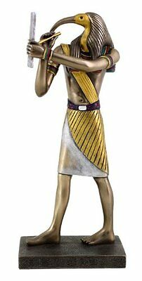 "9.25"" Egyptian Thoth Sculpture Figurine Ancient Egypt God Statue Knowledge"