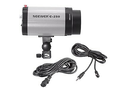 Neewer C-250 250W Studio Photographic Strobe With Power And Sync Cord