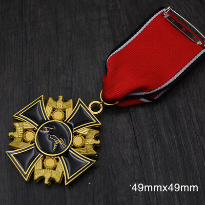 WWI GERMAN Order Medal of Death Medal Brooch with three levels