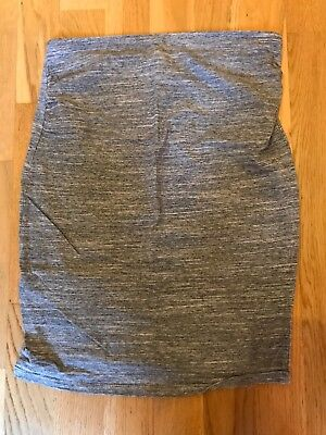 Grey Maternity Skirt - H&M - Small over the bump Pencil Skirt