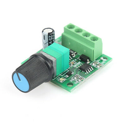 DC 1.8-15V 2A 30W Motor Speed Controller Regulator (PWM) 1803BK Driver Switch C1