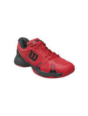 Wilson Junior Kids Tennis Trainer Sports Shoes in Red Size 13.5 RRP £50