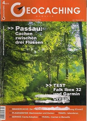 Geocaching Magazin  Nr. 4 -  2013 Juli / August