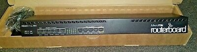 MikroTik RouterBOARD RB2011iL-RM Rack Mount 1U Router Firewall Gigabit  Ethernet