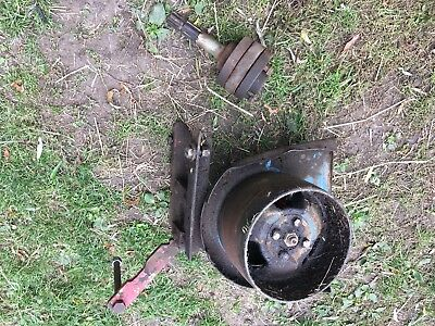 Ford 4000 Etc Tractor FoMoCo Flat Belt Pulley With Adaption To Fit IH
