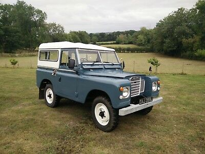 1973 7 Seat Land Rover Series 3