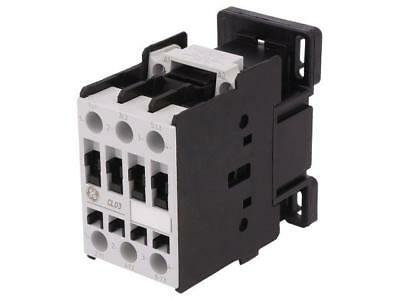 CL03A300T6 Contactor3-pole 230VAC 25A NO x3 DIN, on panel CL 11kW