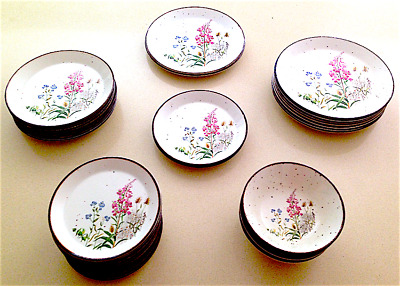"""J&G Meakin Lifestyle Wayside """"Oven to Tableware"""" Plates & Bowls"""