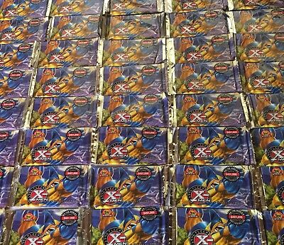 BRAND NEW!!!    100 PACKS. 1996 FLEER  X MEN  sealed foil packs - 600 new cards!