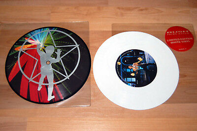 "RUSH Prime Mover und Subdivisions Picture White Vinyl 7"" inch ***TOP*** RAR"