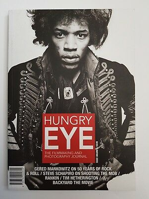 Hungry Eye Magazine Issue one Volume 2 photography video Gered Mankowitz Hendrix