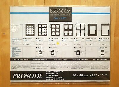 Panodia Proslide Matt Black Presentation Board 080301