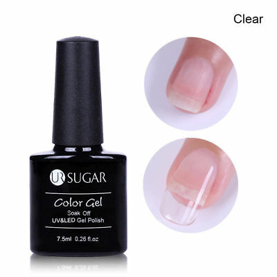 7.5ml UR SUGAR Poly Quick Building UV Gel Polish Extension Clear Tips Builder