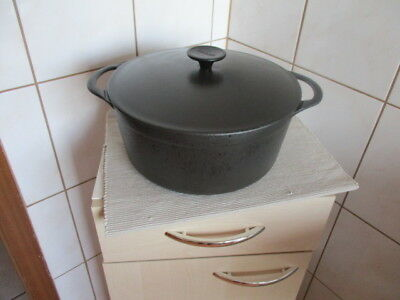 Cousances Le Creuset Gusseisen Bräter Nr. 26 sehr guter Zustand Made in France
