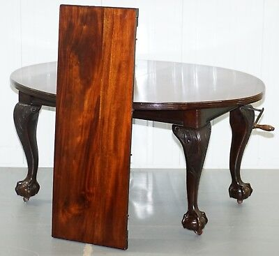 Stunning Victorian James Phillips & Son's Solid Mahogany Extending Dining Table