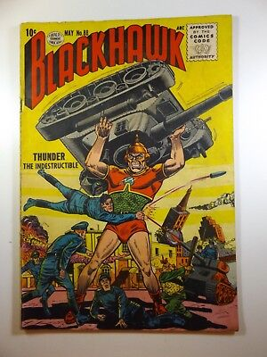 """Blackhawk #88 """"Thunder The Indestructible!"""" Solid VG- Condition!!"""