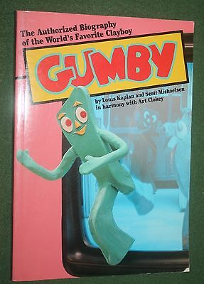 """GUMBY """"The Authorized Biography of the World's Favorite Clayboy 1986  Art Clokey"""