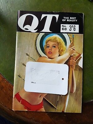 Vintage Mens Glamour Magazine QT No.68 Vicky Kennedy Pin-up Photography