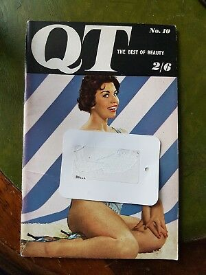 Vintage Mens Glamour Magazine QT No.10 Mary Marshall Pin-up Photography