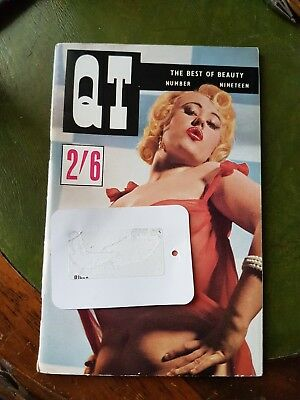 Vintage Mens Glamour Magazine QT No.19 Mercia Turner Pin-up Photography