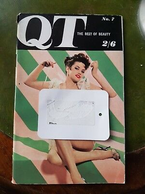 Vintage Mens Glamour Magazine QT No.7 Rosina Revell Pin-up Photography