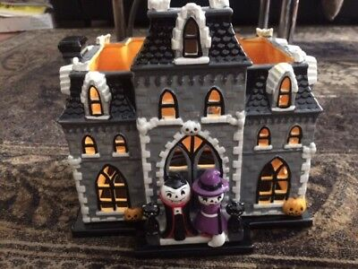 2016 bath and body works halloween haunted house large candle holder luminary
