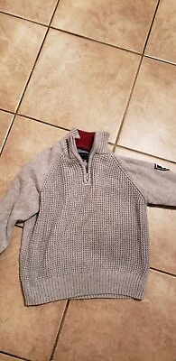 Boys tommy hilfiger Sweater Size Small 8/10 EUC