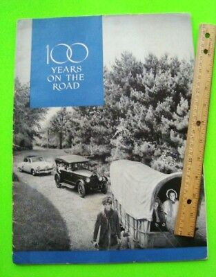 Huge 1952 STUDEBAKER 100 YEARS ON THE ROAD History Book CATALOG 80-p 1852 - 1952