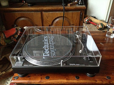 Dust Cover for Technics SL-1210 or 1200 - Lid/Case/Protector - fits MK2/3D/5/5G