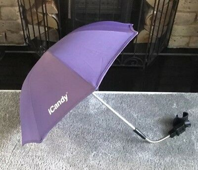 iCANDY PEACH PARMA VIOLET PARASOL/SUNSHADE WITH CLAMP TAKE A L@@K