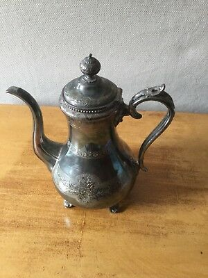 Silver Plate Coffee Pot, James Dixon & Sons, Early 20th Century
