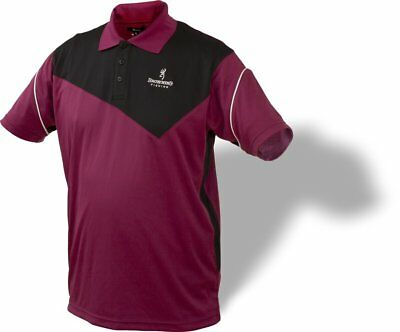 Browning Dry Fit Polo Shirt - Poloshirt Gr. M - 3XL