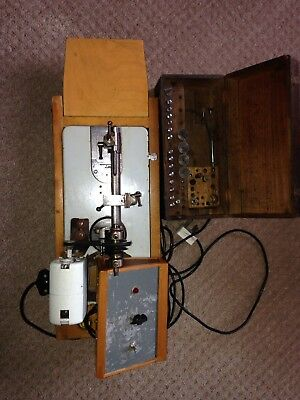 watchmakers lathe Lorch 6mm with original box and collets