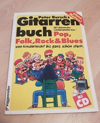Peter Bursch´s Gitarrenbuch Pop, Folk, Rock&Blues, Liedtexte, Akkorde, ohne CD