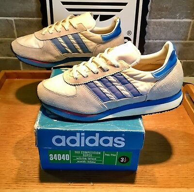 Vintage adidas TRX Competition Super Taiwan 1985 3.5 80s Casual Runners  Rare OG 145614405