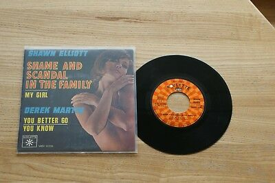 Shawn Elliott ; Shame and scandal in the Family EP  rockn roll