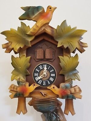 German black forest cuckoo clock for easy repair