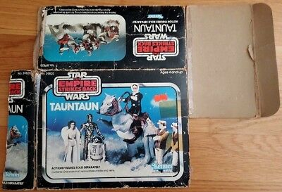 "Star Wars Vintage Box - TAUNTAUN "" Kenner - Closed Belly "" #RARITÄT#"