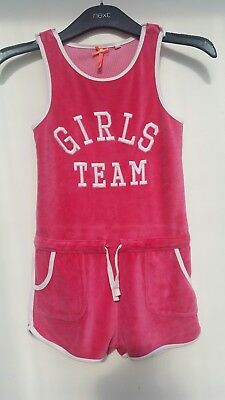 Next Pink Girls Jumpsuit Age 7 Years