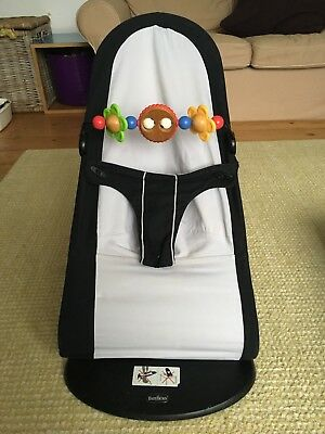 Baby Bjorn Baby Balance Bouncer Chair In Original Box With Matching Toy