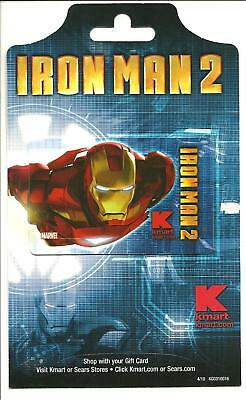 Kmart Ironman 2 Gift Card With Hanger No $ Value Collectible